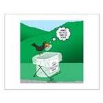 Recycling Bird Small Poster