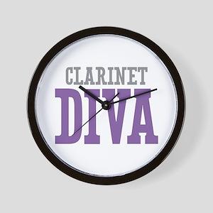 Clarinet DIVA Wall Clock