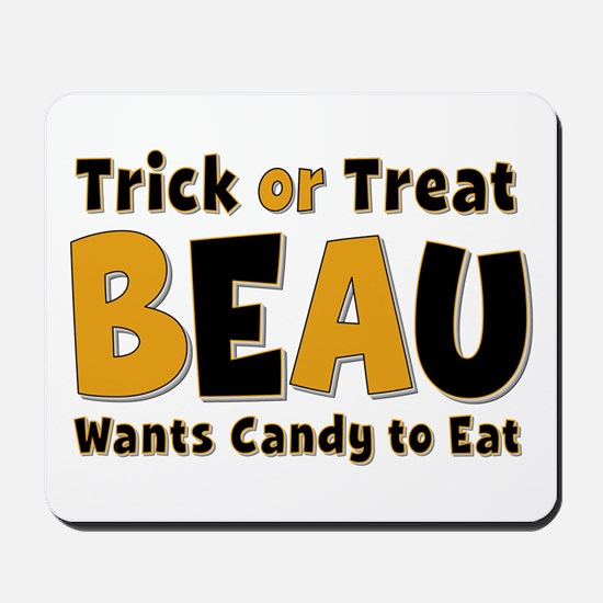 Beau Trick or Treat Mousepad