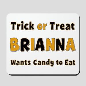 Brianna Trick or Treat Mousepad