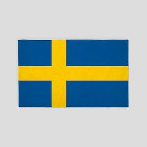 Flag of Sweden 3'x5' Area Rug