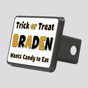 Braden Trick or Treat Rectangular Hitch Cover
