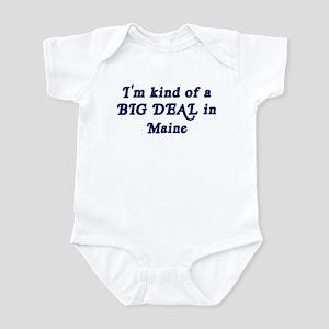 Big Deal in Maine Infant Bodysuit