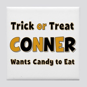 Conner Trick or Treat Tile Coaster