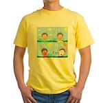 Hot Weather Hydration Yellow T-Shirt