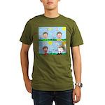 Hot Weather Hydration Organic Men's T-Shirt (dark)
