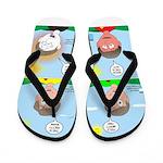 Hot Weather Hydration Flip Flops