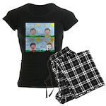 Hot Weather Hydration Women's Dark Pajamas