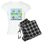 Hot Weather Hydration Women's Light Pajamas