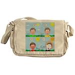 Hot Weather Hydration Messenger Bag