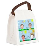 Hot Weather Hydration Canvas Lunch Bag