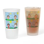 Hot Weather Hydration Drinking Glass