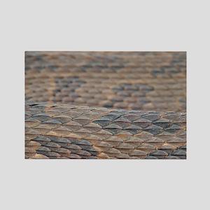 Water Snake Skin Rectangle Magnet