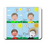 Hot Weather Hydration Mousepad