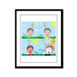Hot Weather Hydration Framed Panel Print