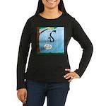 Challenge Course Women's Long Sleeve Dark T-Shirt