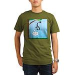 Challenge Course Snak Organic Men's T-Shirt (dark)