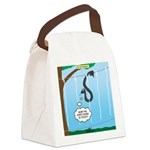 Challenge Course Snake Canvas Lunch Bag