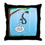 Challenge Course Snake Throw Pillow