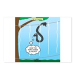 Challenge Course Snake Postcards (Package of 8)