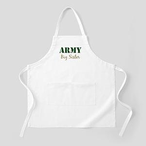 Army Big Sister BBQ Apron