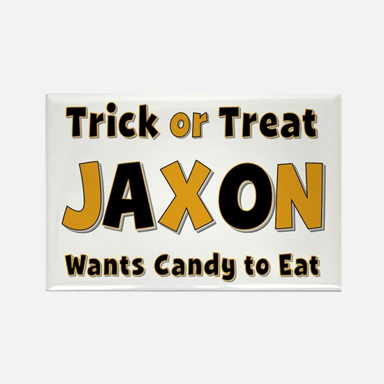 Jaxon Trick or Treat Rectangle Magnet
