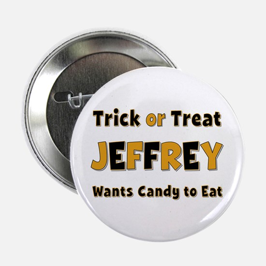 Jeffrey Trick or Treat Button