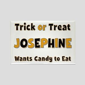 Josephine Trick or Treat Rectangle Magnet