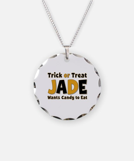 Jade Trick or Treat Necklace
