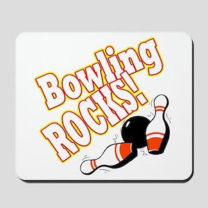 Bowling Rocks! Mousepad