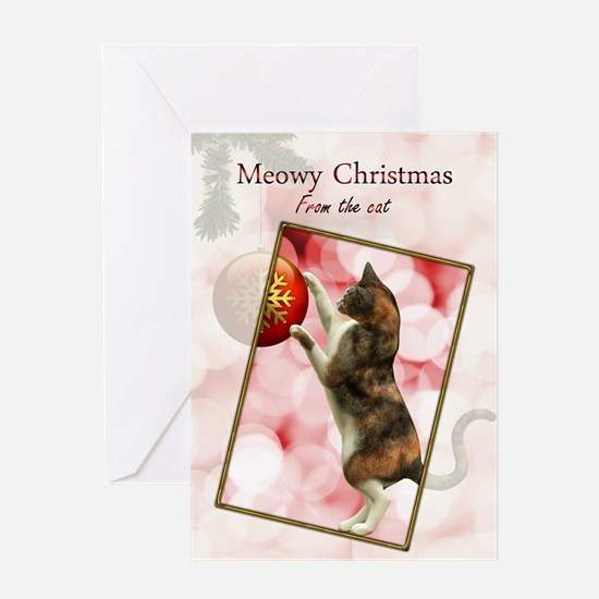 purrfect Christmas Greeting Card