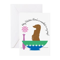 Meerkat Soup Greeting Cards (Pk of 10)
