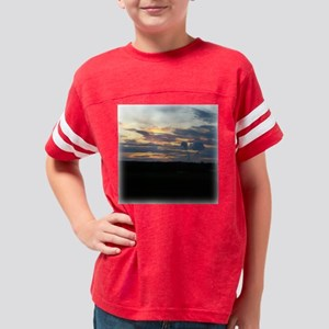 Sunset0091sqw Youth Football Shirt
