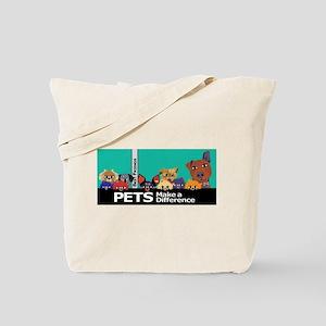 Colorful Pets Tote Bag