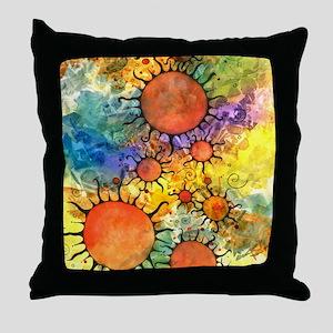 Primordial Suns 2 Throw Pillow