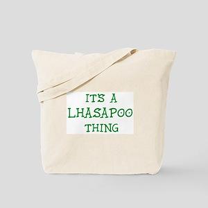 Lhasapoo thing Tote Bag