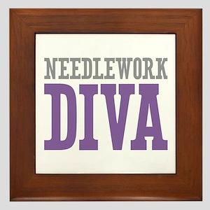 Needlework DIVA Framed Tile