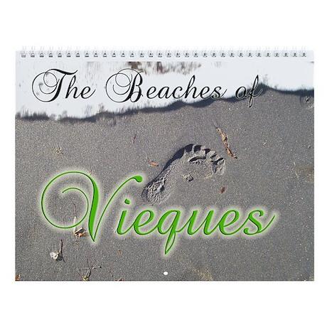 The Beaches of Vieques Wall Calendar