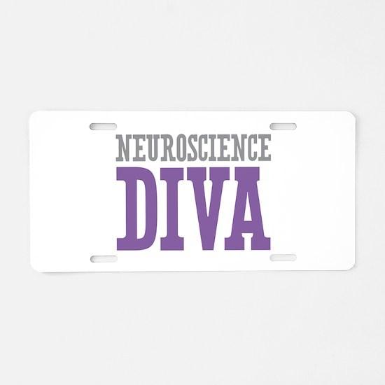 Neuroscience DIVA Aluminum License Plate