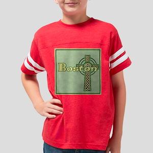 boston-celtic-tile Youth Football Shirt