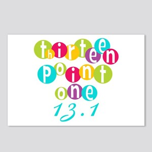 Thirteen Point One 13.1 Postcards (Package of 8)