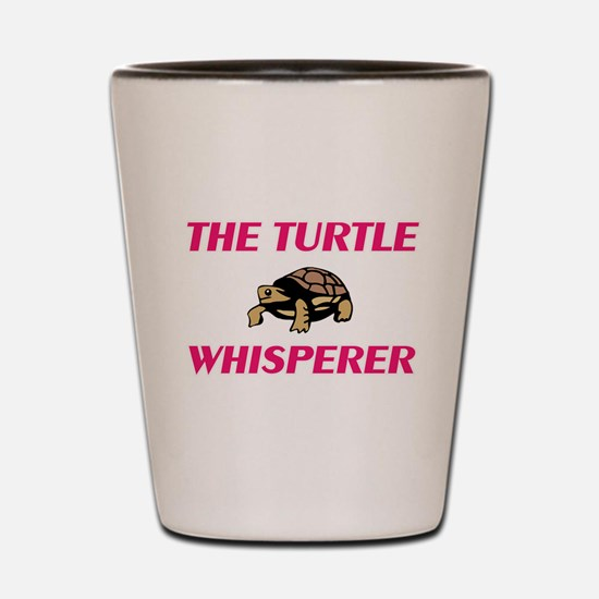 The Turtle Whisperer Shot Glass