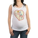 Cupid Love Maternity Tank Top