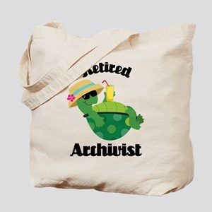 Retired Archivist Gift Tote Bag