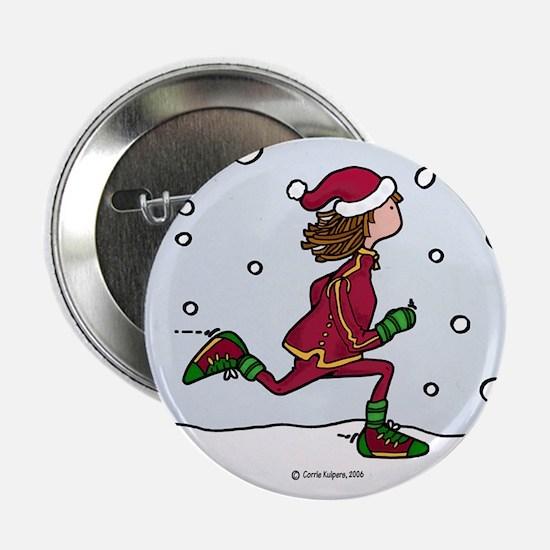 Cool Runnings Woman Button