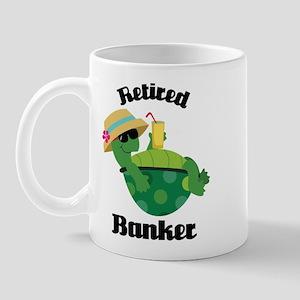 Retired Banker Gift Mug