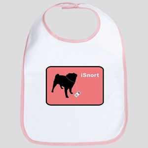 iSnort Pink Bib