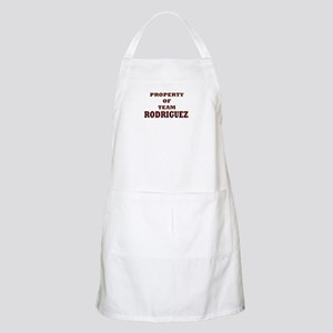 Property of team Rodriguez BBQ Apron