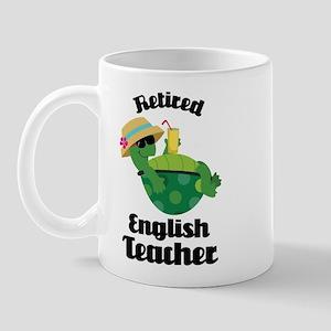 Retired English Teacher Gift Mug