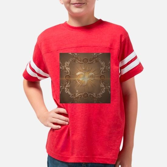 Om symbol made of rusty metal Youth Football Shirt